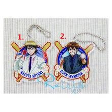 Anime Keychain Daiya no A Eijun Sawamura Satoru Furuya Haruichi Kominat Keyring Phone Bag Pendant Keychain