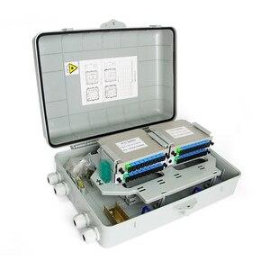 Image 1 - 1X32 распределитель волоконно оптический блок FTTH ПЛК распределитель коробка для 4*1X8 2*1X16 оптический распределитель SC APC