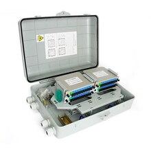 1X32 caja divisora de fibra óptica FTTH PLC caja divisora para 4*1X8 2*1X16 divisor óptico SC APC