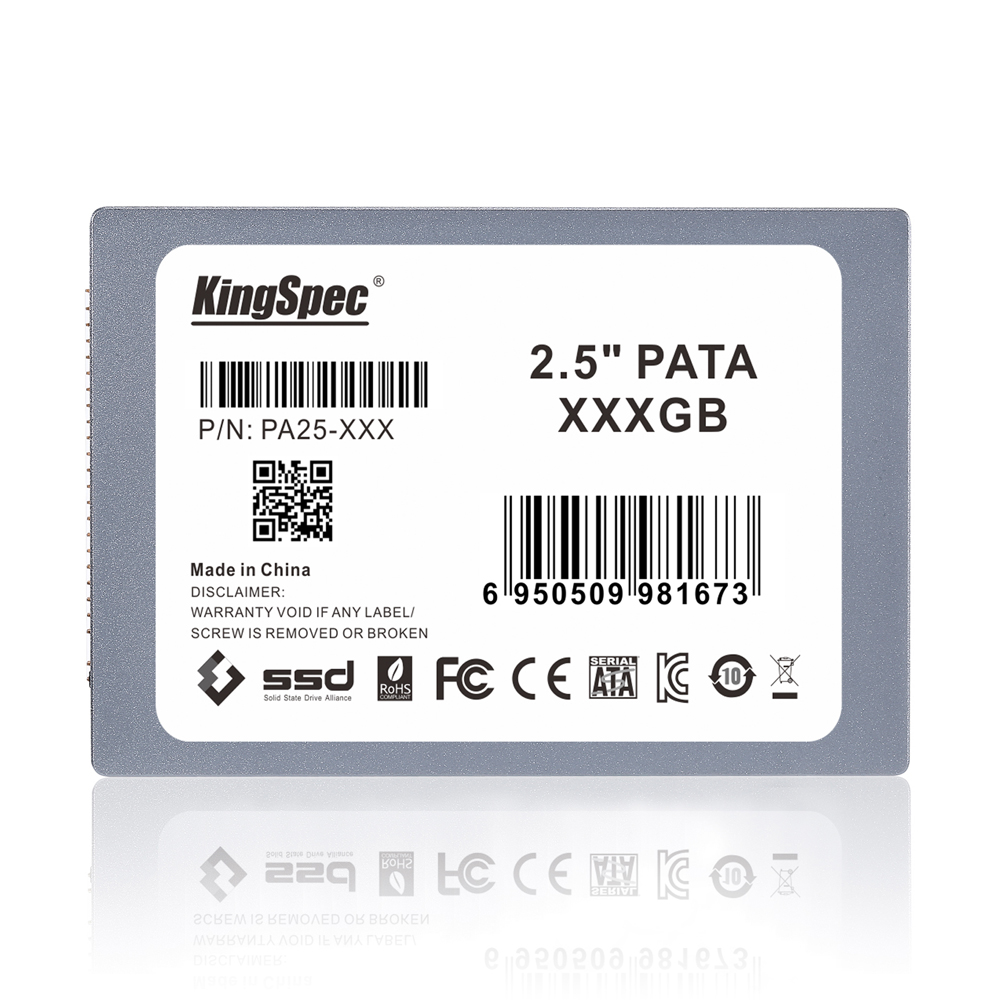 Prix pour KingSpec 2.5 pouce PATA hd ssd 128 gb MLC Solid State Disk Flash Disque Dur 120 gb IDE HDD Disque Dur PA25-128> ssd 120 gb