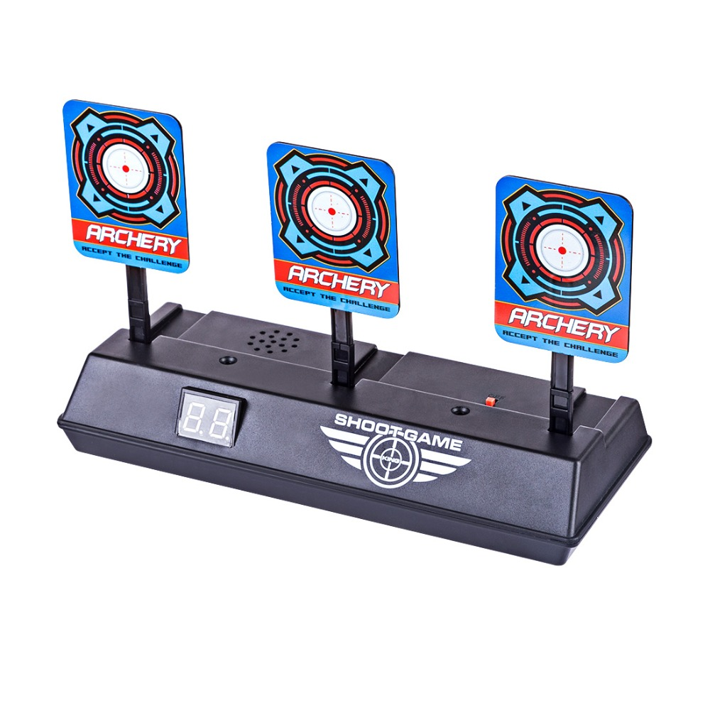 New Arrive Aim Shooting Target Scoring Auto Reset Demountable Electric Target For Paintball Shooting Training Accessories