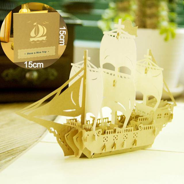 1 pc vintage greeting card ship shaped blessing cards free shipping 1 pc vintage greeting card ship shaped blessing cards free shipping greeting cards marriage wedding cards m4hsunfo