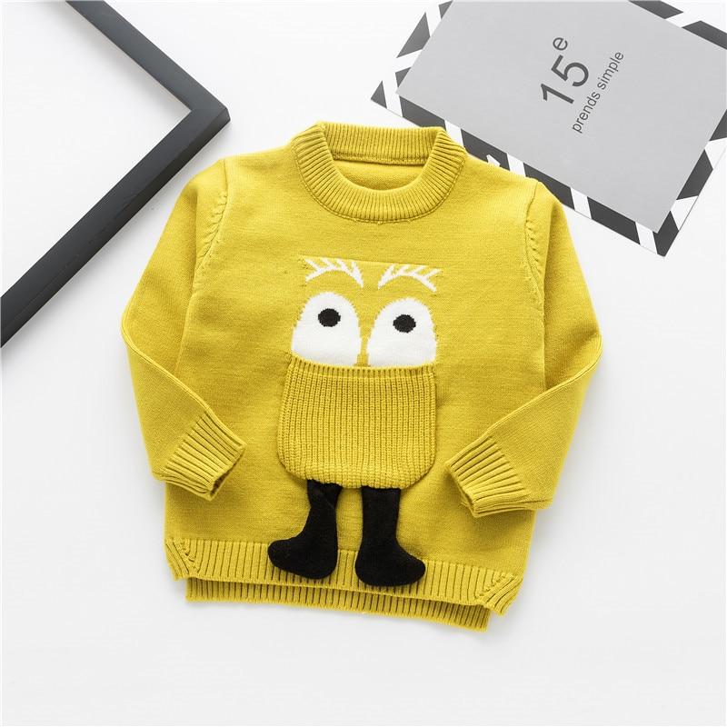 Moda uşaq kazak payız qış isti oğlanlar trikotaj tursweaters - Uşaq geyimləri - Fotoqrafiya 1