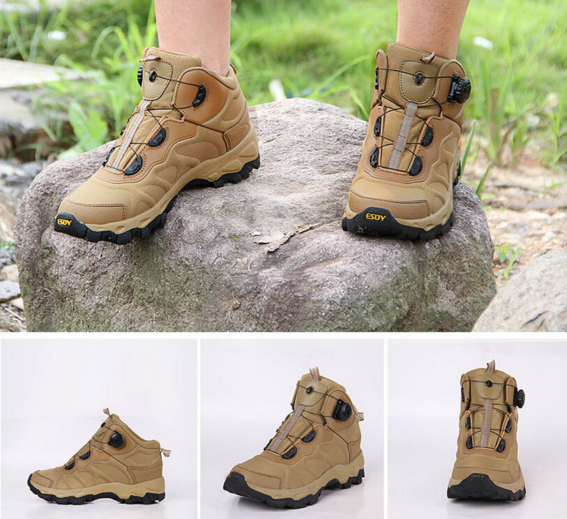 Military Tactical Boots Desert Combat Outdoor Army Hiking Travel ...