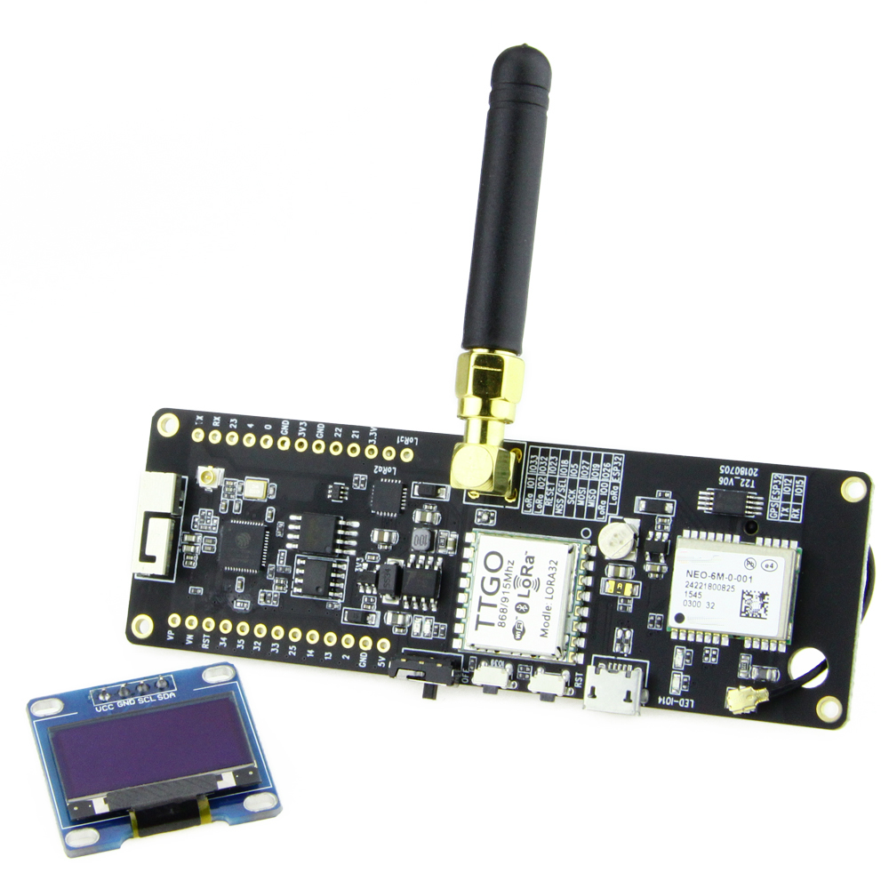 TTGO LoRa32 V2 1_1 6 version 433/868/915Mhz ESP32 LoRa OLED