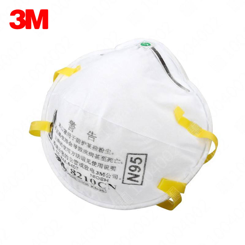 20 pcs/box 3M 8210 Dust Mask Anti-particles Anti-PM 2.5 N95 Standards Masks Working Respirator Safety Anti-Particulate Masks antibiotic pm2 5 masks child particles basic m90102