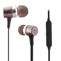 Wireless Sports In Ear Stereo Bluetooth Earphone Handsfree Music Headphone Music Switch Volume Control For IPhone