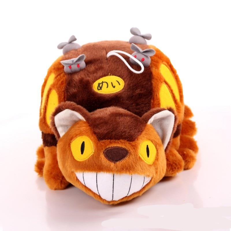14inch Miyazaki Hayao My Neighbor Totoro Bus Soft Stuffed Plush Toys Pillow
