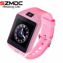 SZMDC Smart Electronics DZ09 Smart Baby Watch With Passometer Camera Android Bluetooth Smart Watch For Children Smartwatch Kids