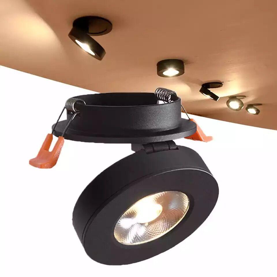 Super Helle 220V Led downlight COB Spot Licht 3w 5w 7w 10w einbau Lichter Lampen innen Beleuchtung warm weiß/kalt weiß