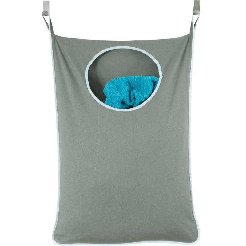 Organizer Bag Waterproof Laundry Bag with Stainless Steel and Suction Cup Hook Wall Mounted Hanging Laundry bag|Laundry Bags|   - title=