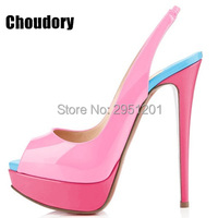 Women High Heels Fashion Peep Toe Pumps Lady Sexy Gradient Color Wedding Shoes High Quality Nude