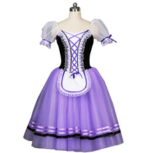 Giselle Ballet Costumes Purple Ballerina Stage Dance