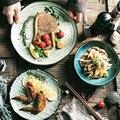NIMITIME керамическая тарелка для стейка в скандинавском стиле тарелка для риса домашняя чашка для воды кружка посуда