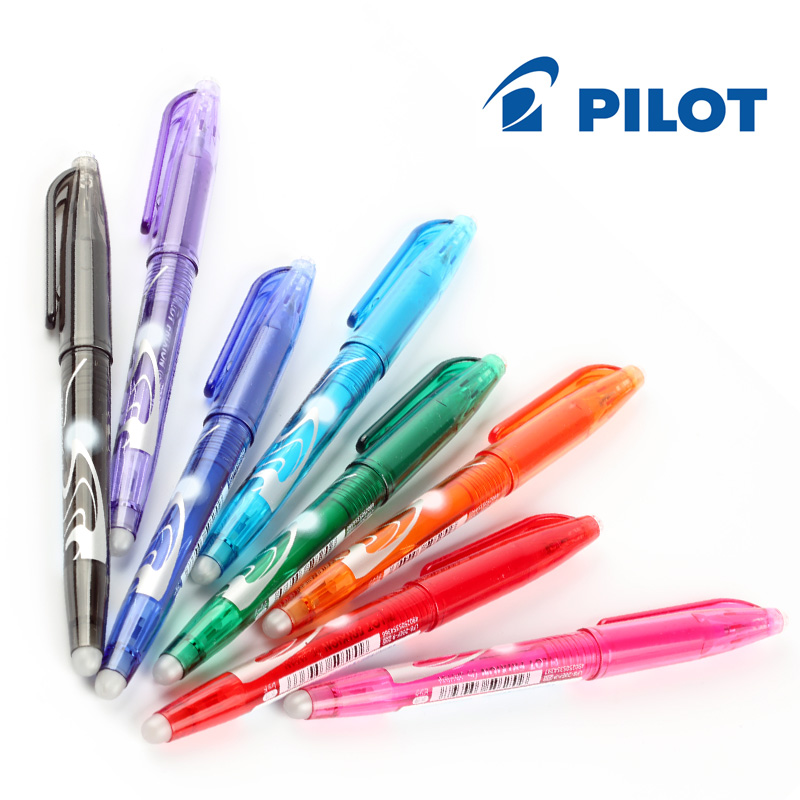 Japan Pilot FriXion 1 set 8 colors Magic Erasable Touchable Gel Ink resurrect Pen School Office Supplies 0.5 mm LFB160EF8CN