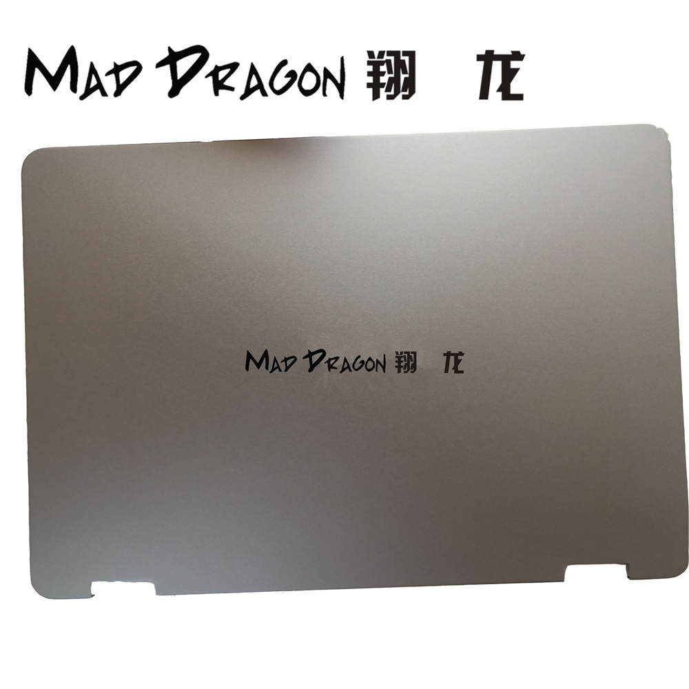 MAD DRAGON Brand new Laptop LCD Back Cover for ASUS VivobookFlip TP401 CA7Y30 LCD Back Cover Lid Assembly - 13N1-33A0332 new origin for asus rog gl702 gfx71j4860 gl702vm lcd back cover republic of gamers laptop