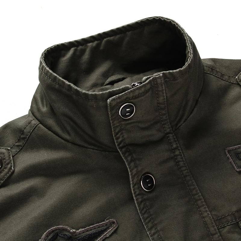 Moška jakna velike velikosti plus velikost 6XL vojaški stroški - Moška oblačila - Fotografija 5