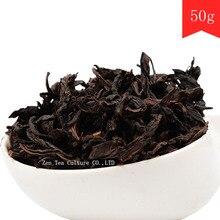 50g Chinês Wulong Chá Da Hong Pao Big Red Robe Oolong Preto Cha Wuyi Dahongpao Da Hong Pao Saúde Alimento Verde Chá a Granel chá(China (Mainland))