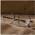 Kottdo 2016 nova literatura retro rodada óculos de armação quadro feminino miopia masculino óculos de moda moldura de ouro da menina das senhoras designer de marca
