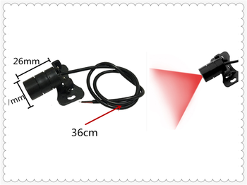 Motorcycle accessories laser fog anti-collision tail light warning for BMW K1600 GT GTL R1200GS R1200GS ADVENTURE R1200R image