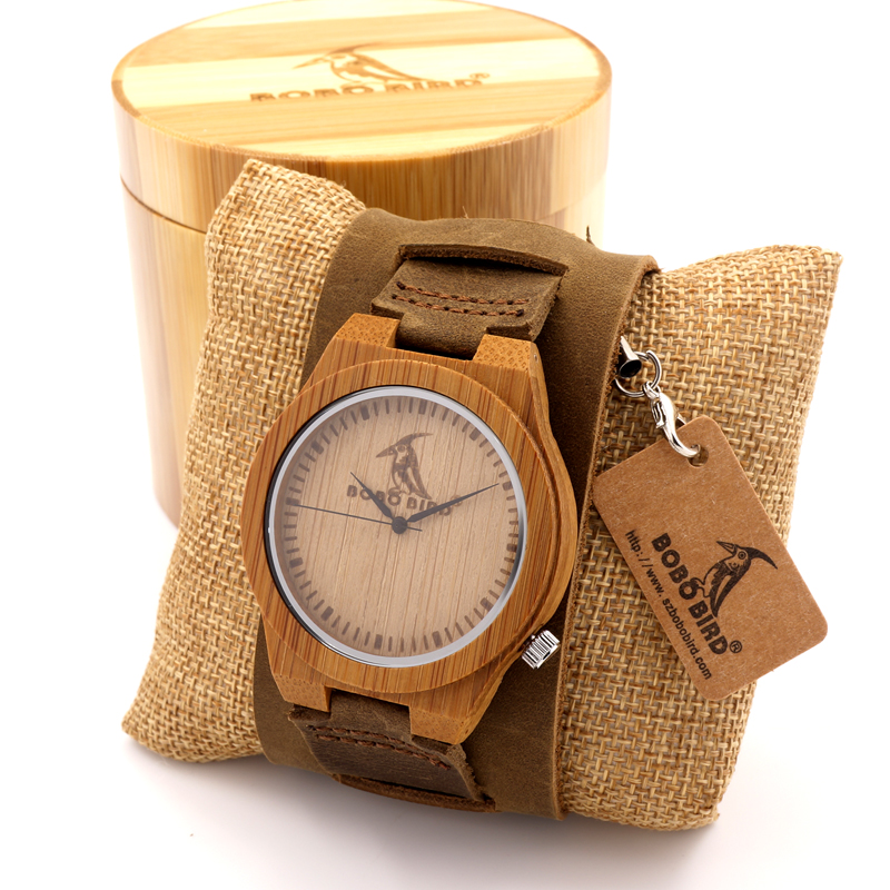 aliexpress com buy bobo bird z010 luxury brand design bamboo aliexpress com buy bobo bird z010 luxury brand design bamboo wood watches chicago soft genuine dismountable wide leather bands straps mens watch from