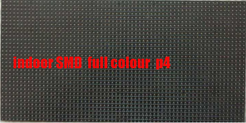 Free ship DHL 30pc SMD p4 led module Full color 256*128MM indoor led display p4 module p4 rgb led 2048dots ...