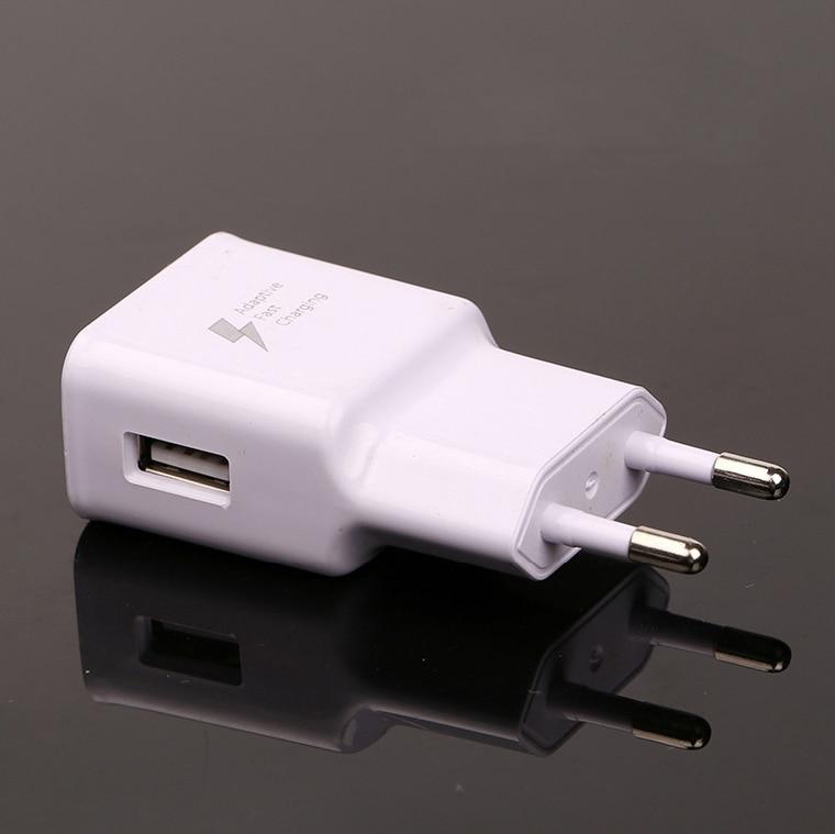 GEUMXL 5V-2.1A Adaptiv hurtiglader EU USB-telefon hurtigadapter for - Tilbehør og reservedeler til mobiltelefoner - Bilde 2
