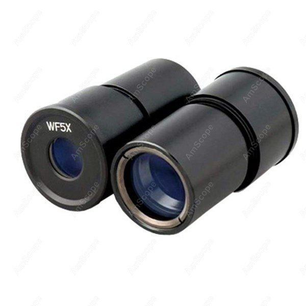 Microscope Eyepieces-AmScope Supplies Pair of WF5X Microscope Eyepieces (30.5mm)  цены