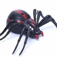 Infrarossi Pet Elettronico RC Simulazione Falso Spider Insetti Robotici Prank Giocattoli Ragno Telecomando A Raggi Infrarossi Prank Giocattoli Per I Bambini