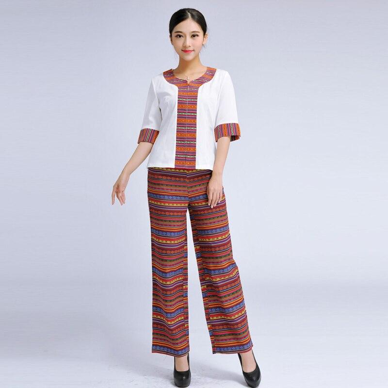 2016 free shipping pattern airline hostess thai spa for Uniform thai spa