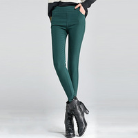 Hot Sale Winter Women Super Elastic Skinny Pants Velvet Thickening Leggings Trousers Plus Size 4XL Female