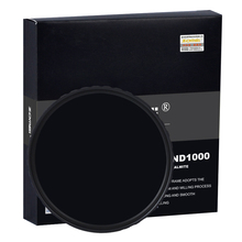 Zomei 10-STOP 52/58/67/72/77/82MM Slim HD ND1000 Multi-coated Pro Optical Glass Neutral Density Filter For Canon Nikon Camera