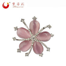 2019 Nuove Donne Spille k Brooches Della Lega Pianta Broche Hijab Spille Brosh Broshi di Cristallo Big vintage-accessori Bella Star spille(China)