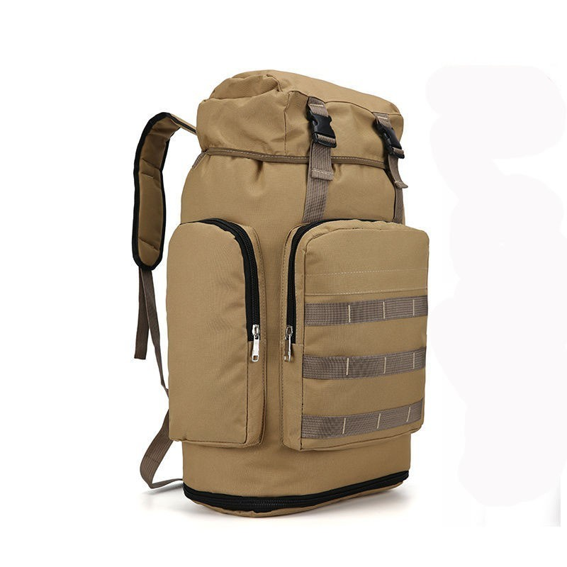 80L Man Large Capacity Travel Backpack Tactical Military Backpacks Packet Assault Outdoor Hiking Bags Camping Mountaineering Bag
