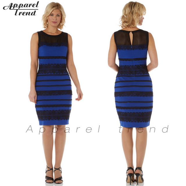 The Dress White And Gold Or Blue And Black Royal Blue Lace Dress