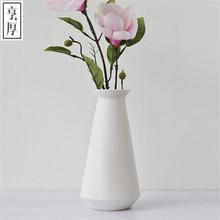 Free Shipping 2016 Europe Flower Vase Wedding Party  Storage Jardiniere Decor Home Decoration   Type piece Round ceramic white