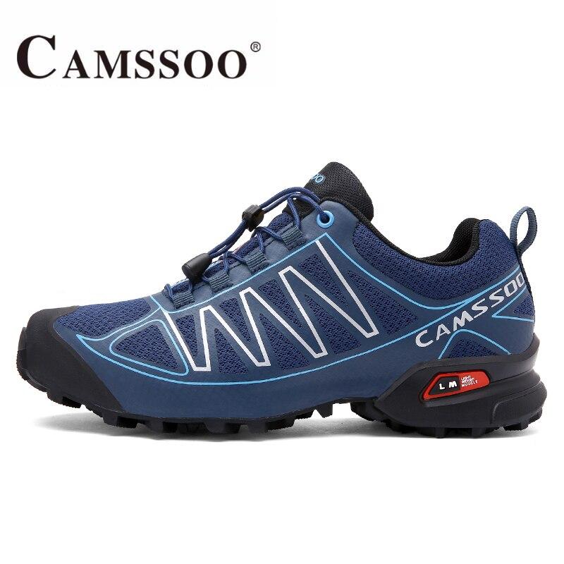 CAMSSOO Men's Outdoor Trekking Hiking Shoes Senderismo Sneakers For Men Sports Climbing Mountain Jogging Shoes Sneaker Man