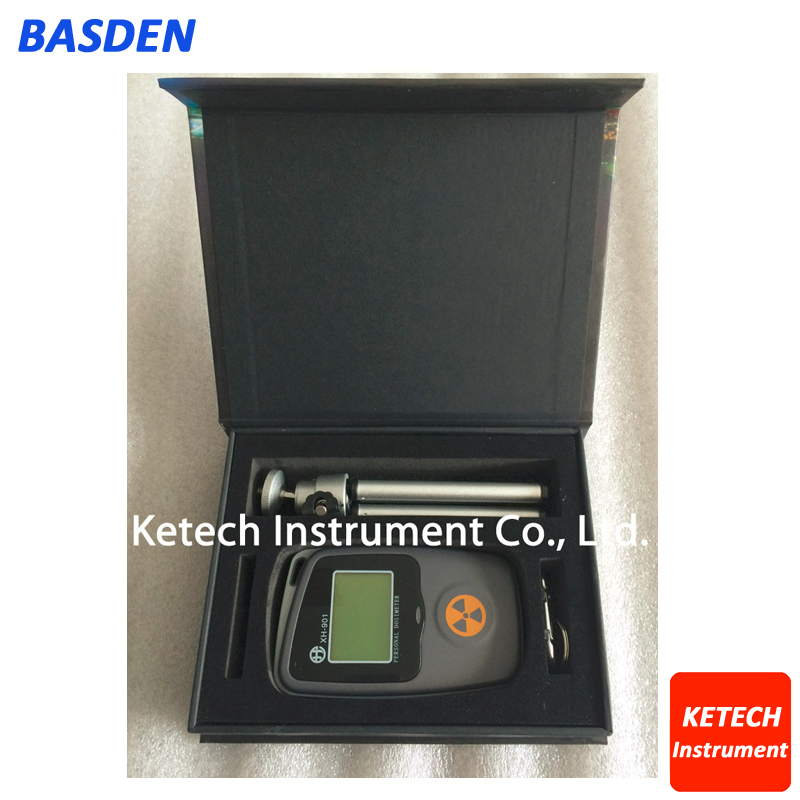 Hospital / experimental / industrial Nuclear radiation detector alarm personal dosimeters radioactive tester marble meter XH-901 fs2011 nuclear radiation detector tester radioactive particles geiger counter personal dose alarm chinese and english system