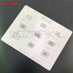 Dla iPhone WiFi zintegrowane sadzenie cyny stalowa sieć netto dla iPad WiFi chip IC moduł stannic roślin cyny sieci w Zestawy elektronarzędzi od Narzędzia na