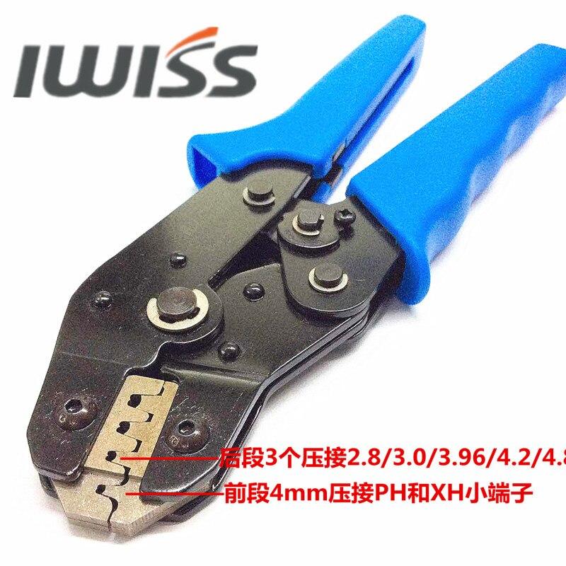 iwiss genuine SN 2549 Dupont xh2.54 plug spring terminals Crimping 2.8 /  3.0 / 3.96 / 4.8mm on Aliexpress.com   Alibaba Group