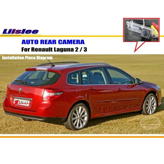 Liislee Parkplatz Kamera/Rückfahrkamera Für Renault Laguna 2/3 ...
