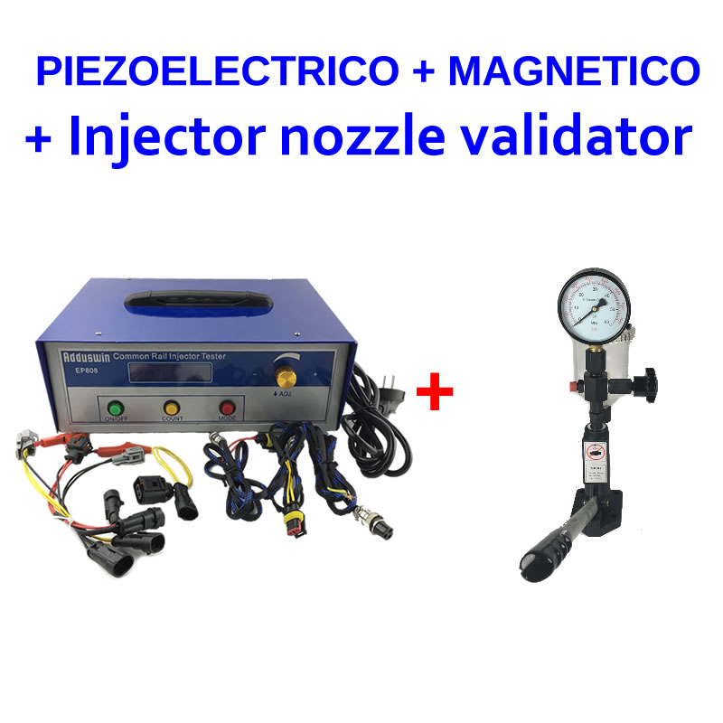 Buy together EP808 professional common rail injector tester for electromagnetic piezoelectric S60H fuel nozzle validator tool