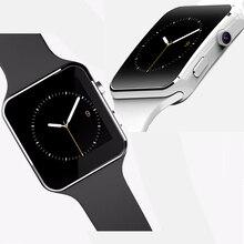 2015 neue Bluetooth Smart Uhr X6 Smartwatch X6 Smartwatch Für Apple iPhone Android-Handy Mit Kamera Unterstützung SIM Karte TF 8977