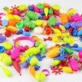 370 pcs crianças diy blocos de construção de brinquedos de plástico crianças conjunto pop contas diy contas de jóias crianças brinquedos diy beads diy jóias DY31S