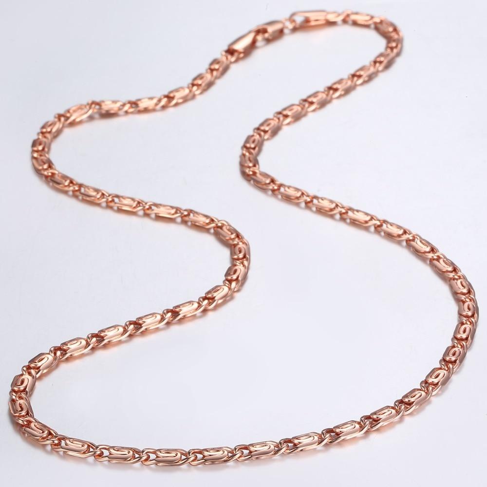 1 Set Femmes Fashion Acier Inoxydable Ton Argent Chaîne Serpent Collier Bijoux NG