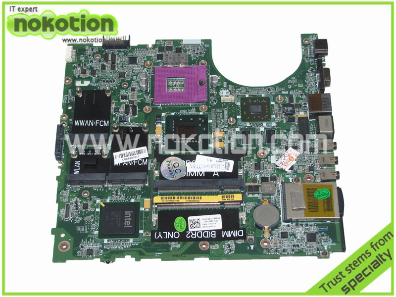 H281K 0H281K Laptop motherboard for Dell Studio 1535 1537 Intel 965PM ATI graphics Mainboard
