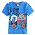 Meninos de roupas crianças t camisas 2015 novo estilo de marca de carro-styling nova roupa dos miúdos meninos estilo verão camisas de manga curta t C6070