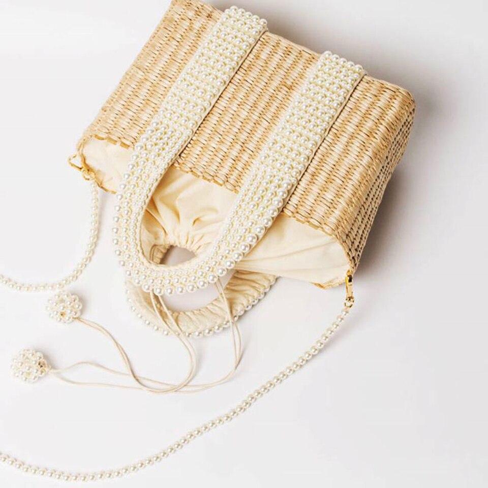 Beach Bag with Pearl (15)