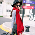 2017 New Year Gift Women Winter Cashmere Long Tassel Scarf Scarves Wrap Shawl Stole Wholesale Trade Clothes 180cm*65cm