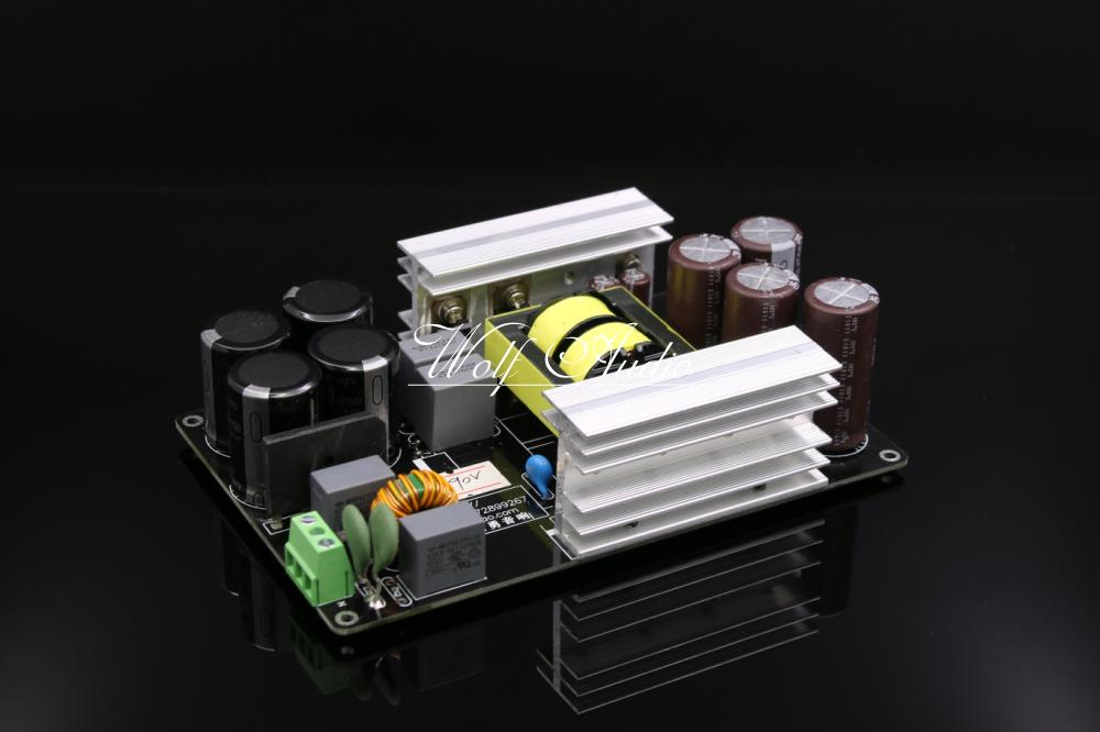 Assembled 1000W 90V LLC Soft Switching Power Supply HIFI Amplifier PSU Board DIY